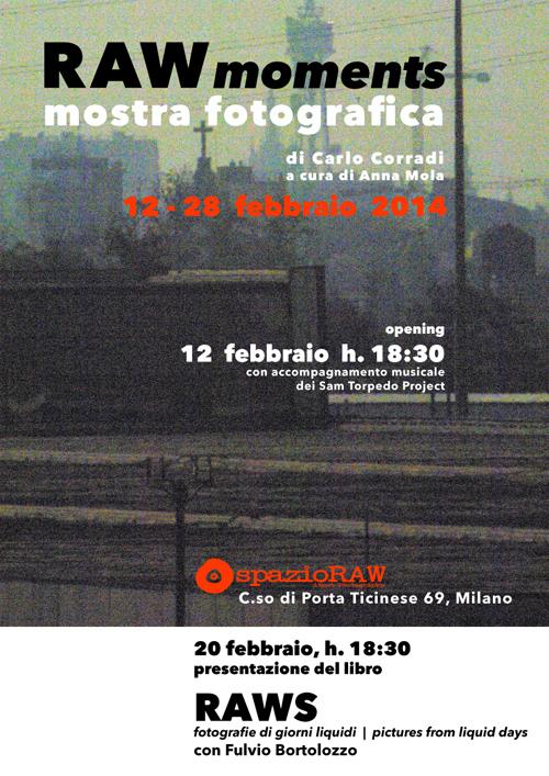 mostra fotografica di Carlo Corradi a spazioRAW Milano