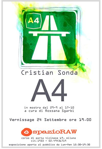 Cristian Sonda spazioRAW