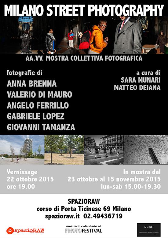Milano Street Photography spazioRAW