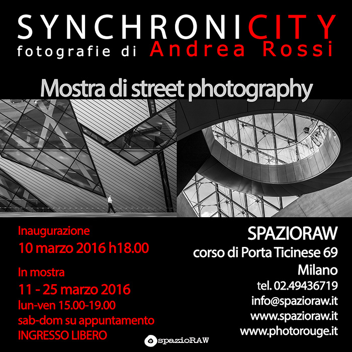 Synchronicity spazioraw mostra fotografia street photography