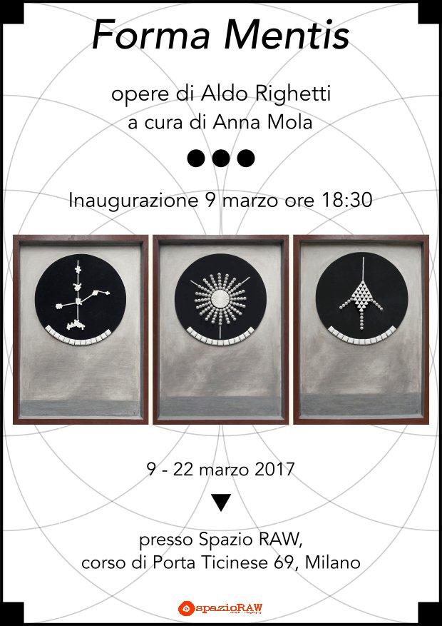 Aldo Righetti spazioraw mostra personale