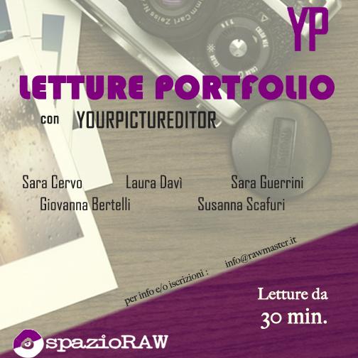 letture portfolio spazioraw con yourpictureditor