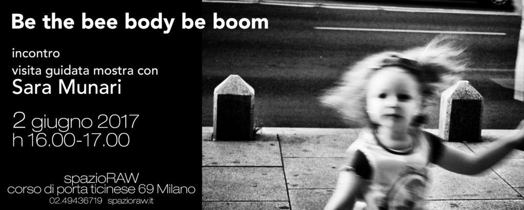 Incontro con Sara Munari spazioRAW Milano