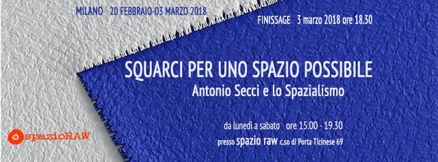 Antonio Secci spazioraw milano