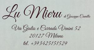 Enoteca Lu Mieru sponsor mostra Spazio Raw Milano