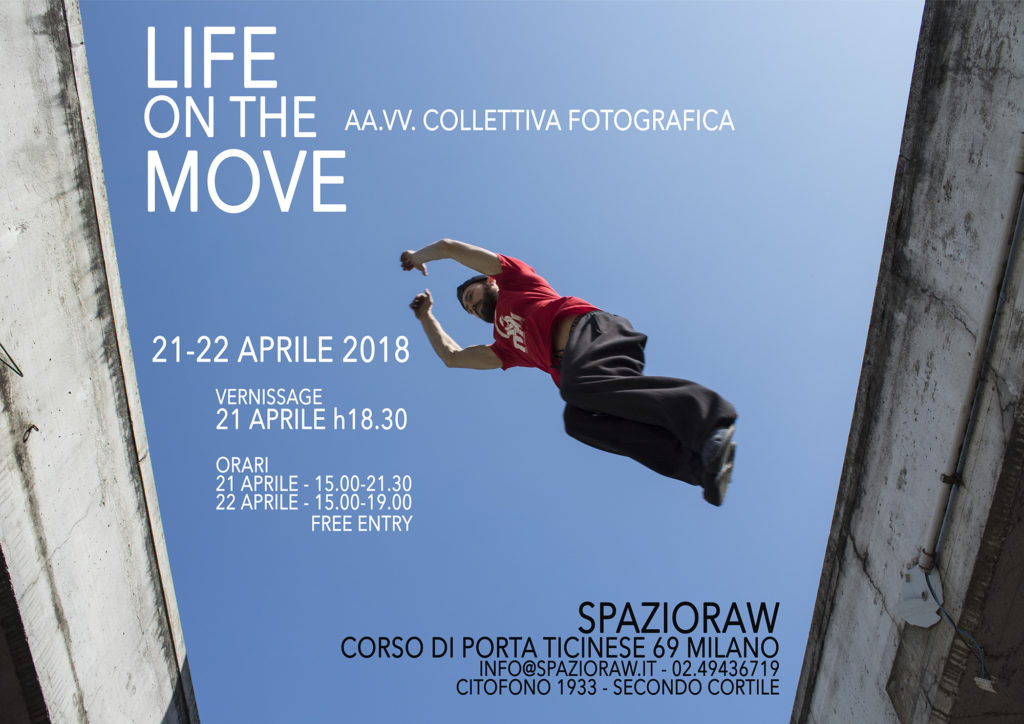 LIFE ON THE MOVE mostra fotografica