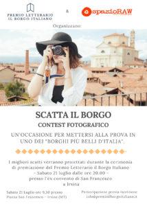 Scatta il Borgo, contest fotografico spazioraw