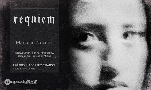 Requiem, Marcello Nocera, spazioRaw Milano